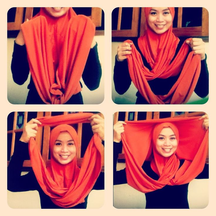 hijab tutorial | Hijab Tutorial for Jilbab Sosor :p