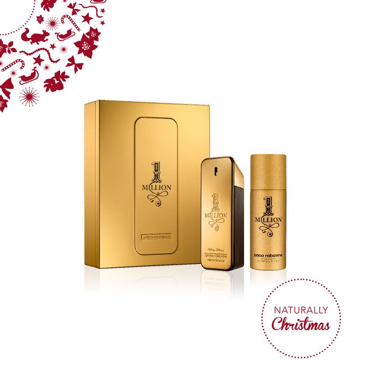 PACO RABANNE – 1 Million Eau de Toilette (100ml) Deodorante spray (150ml) #NaturallyChristmas