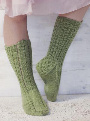 Socks with A Pattern in Front Novita 7 Veljestä (7 Brothers) | Novitaknits