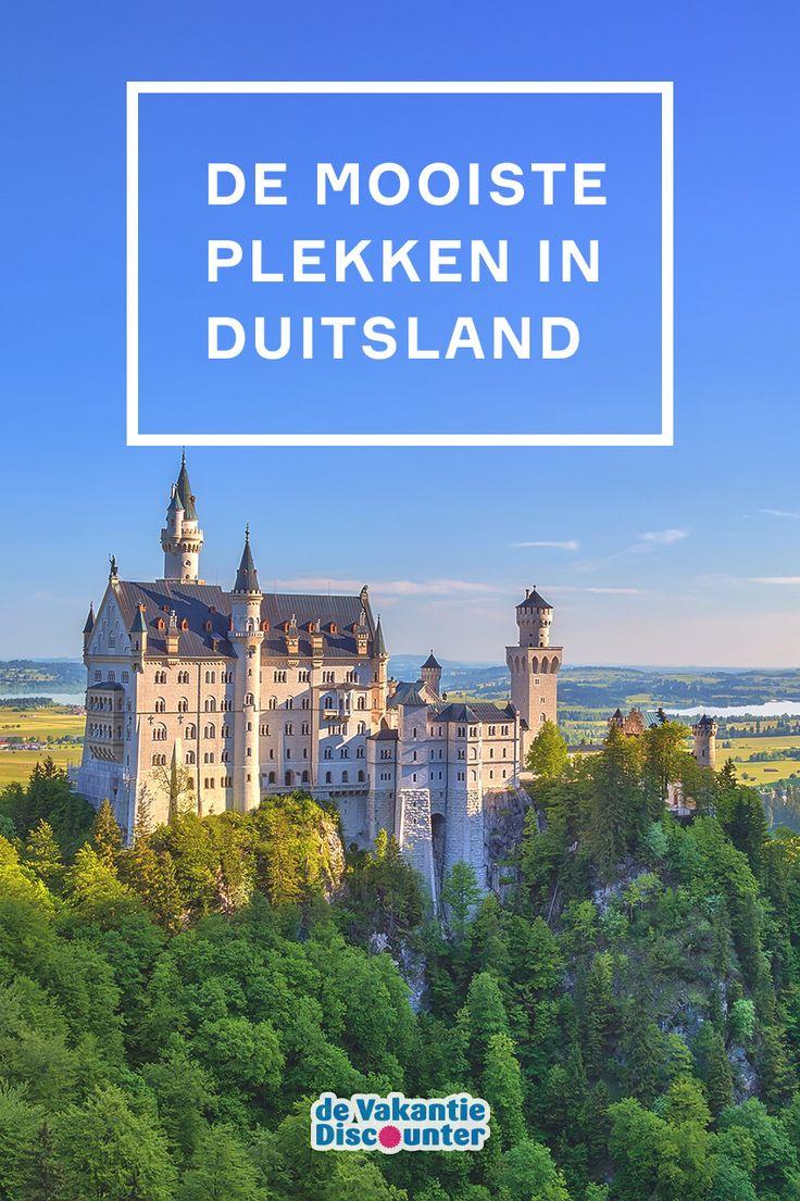 Top 10 Duitse bestemmingen op een rij. Incl. Kasteel Neuschwanstein.
