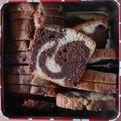 Cake marbré - Blog de cuisine créative, recettes / popotte de Manue