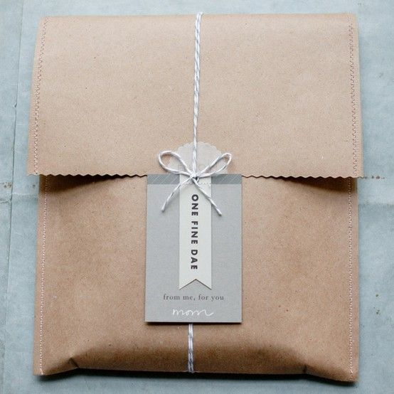 Kraft paper wrapping