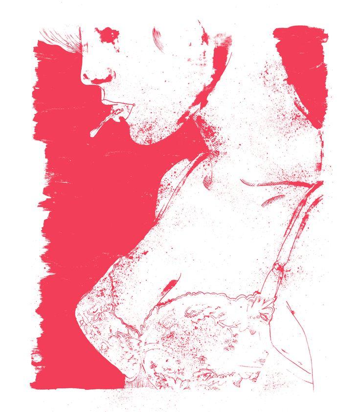 Renda, por Raquel Botelho. http://www.vandal.com.br/p/692