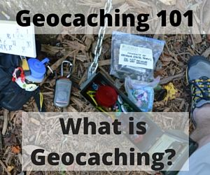 Geocaching is like a treasure hunt around the world. Using GPS units, geocachers use a set of coordinates to navigate to a Geocache, which vary in size.