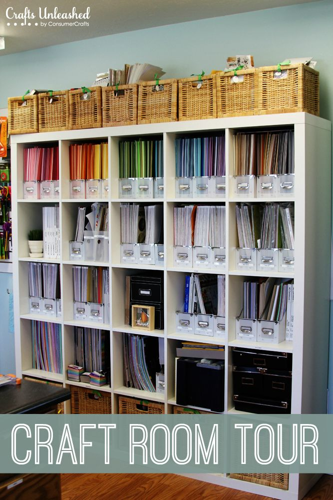 Craft Room Tour Organizational Storage Ideas Craft