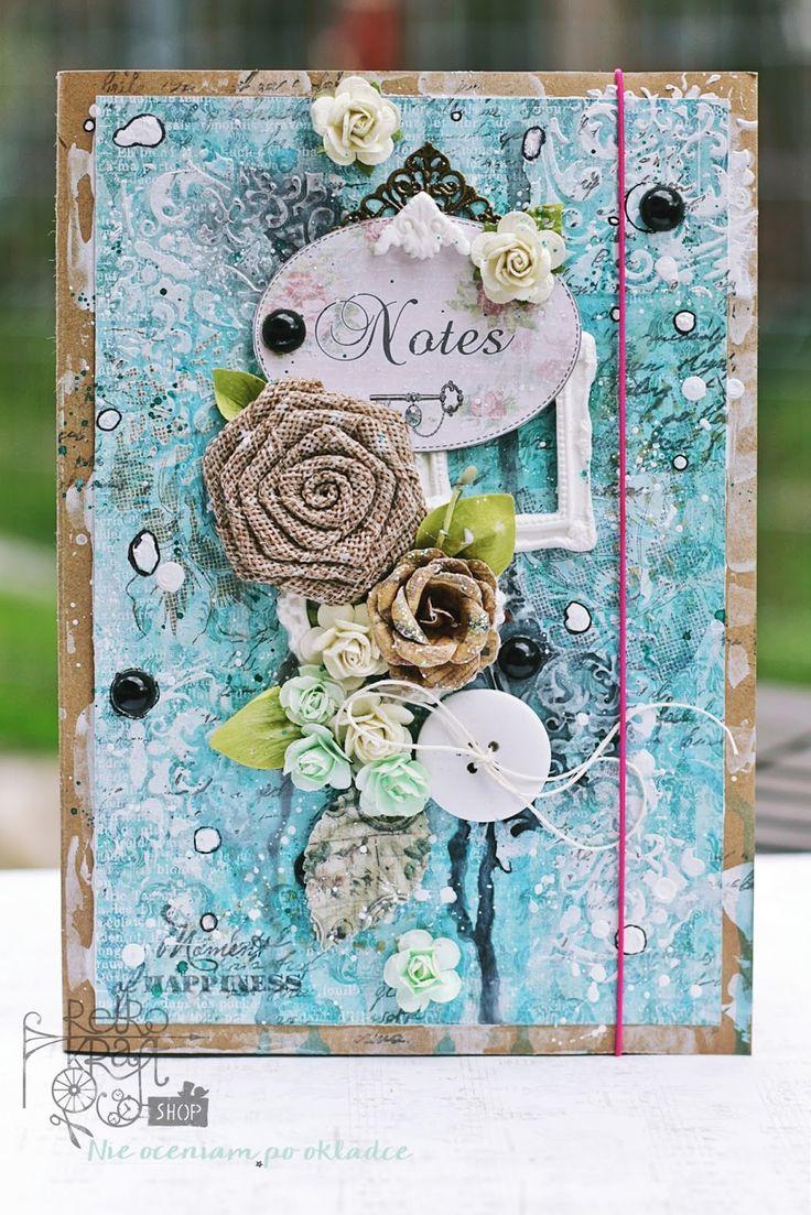 Retro Inspiracje: Magiczny zeszyt Ani / Retro Inspirations: Ania's magical notebook