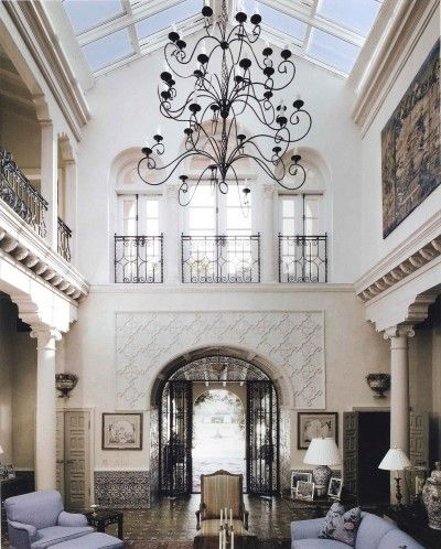 Architects Ferguson & Shamamian - restorations of theCasa del Sud in Palm Beach, a 1920s home. (They just don't make them how they used to - w/ intricate details and beautiful craftsmanship) <3