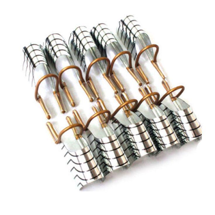 10 chiếc có thể tái sử dụng uv gel acrylic móng nghệ thuật french lời khuyên hướng dẫn mở rộng hình thức công cụ để trang trí móng tay nb150