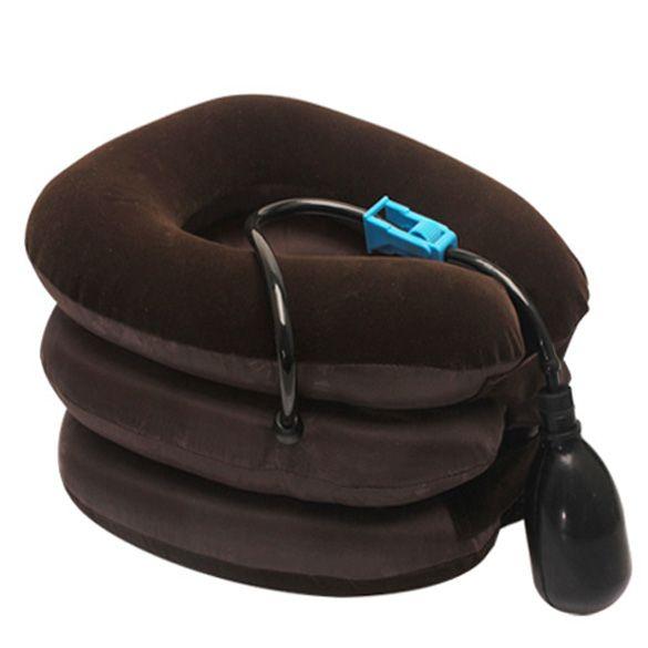 Aire Cervical Suave Para El Cuello Dispositivo de Masaje de Cabeza Dolor de Espalda Dolor en El Hombro Cervical Dispositivo de Tracción Del Cuello Cómodo Relajación