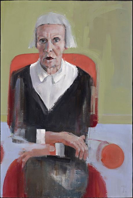 National Portrait Gallery ~ This year's shortlist is an all-male one. Bath-based artist Richard Twose is nominated for his painting of Jean Woods, a woman he first spot...
