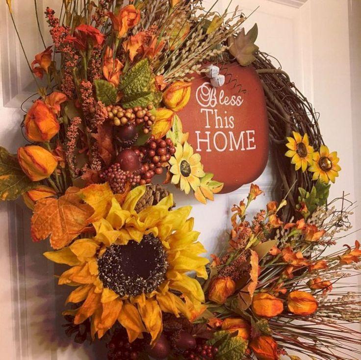 Best Ideas To Create Fall Wreaths Diy 115 Handy Inspirations 0686