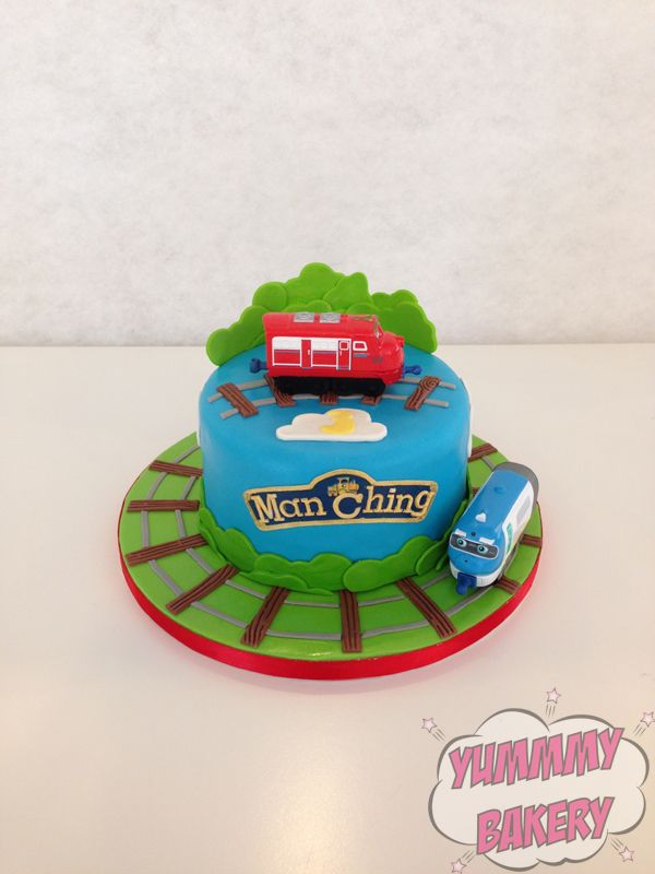 Best Chuggington Images On Pinterest Birthday Ideas Boy - Chuggington birthday cake