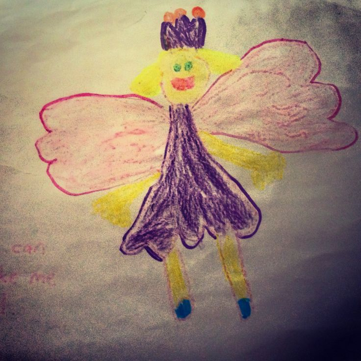 Maria asked us to please make her an angel....