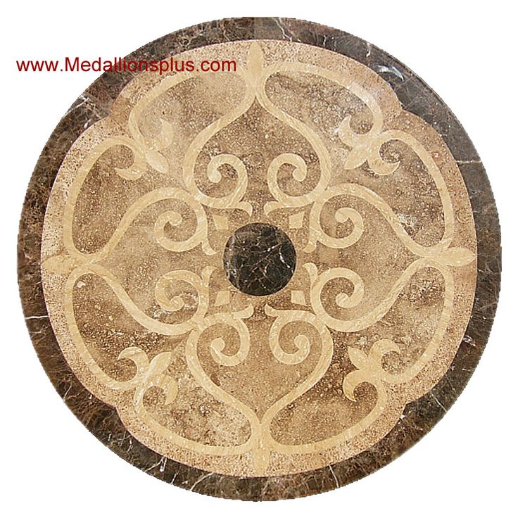 Mosaic Floor Inlay : Best wood flooring medallions inlays designs images