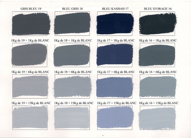 Emery & cie - Paints - Acrylic Paints - Colours - Shades - Page 03
