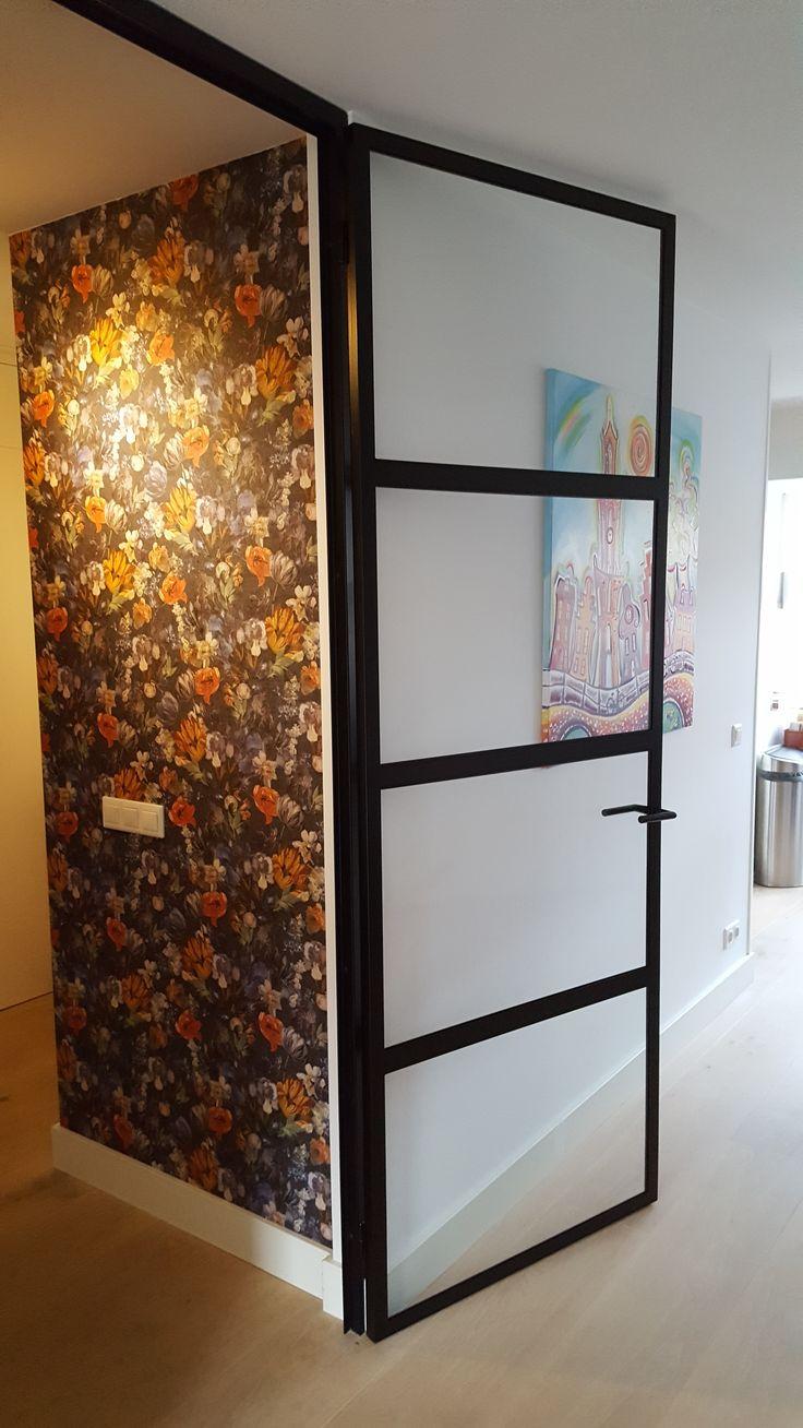 stalen deur  #wonen #inrichting #huis