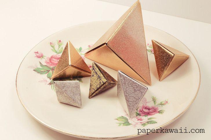 Modular origami fox gift box 03 728x485