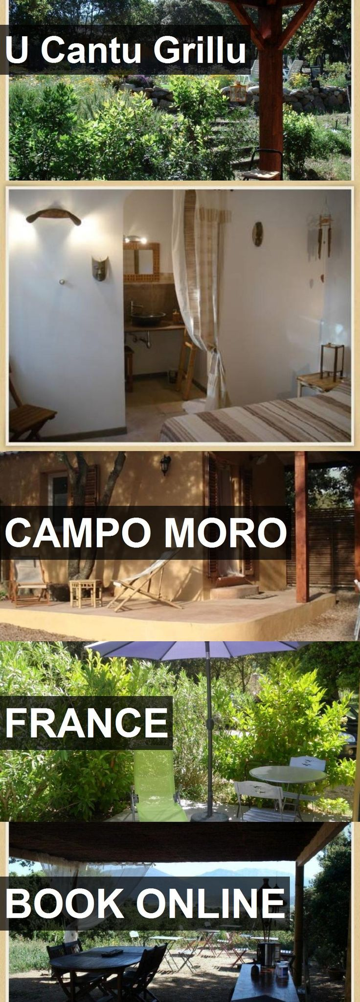 Hotel U Cantu Grillu in Campo Moro, France. For more information, photos, reviews and best prices please follow the link. #France #CampoMoro #travel #vacation #hotel