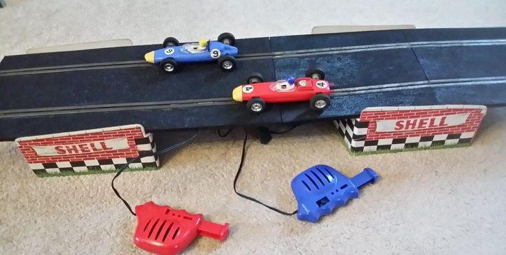 Triang Vintage Scalextric Set 50 Formula 1 Racing Set Rare