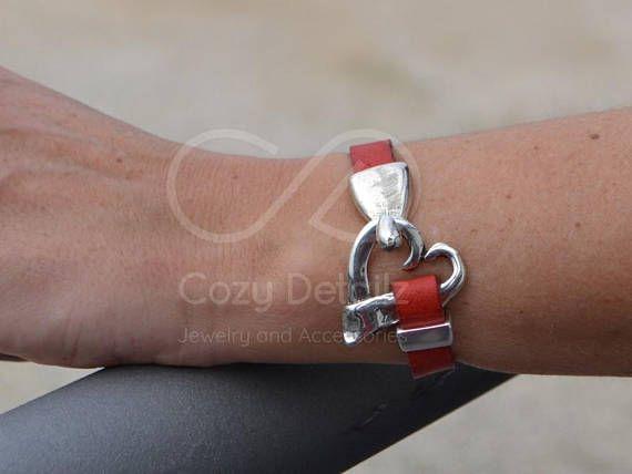 boho bracelet silver heart bracelet uno de 50 style