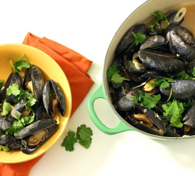 Mussels poblano - great flavor from from smoked paprika and a charred ...