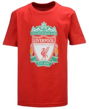 Outerstuff Liverpool Fc Primary Logo T-Shirt, Big Boys (8-20) - Red XL