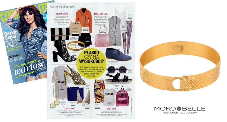 #mokobelle #mokobellejewellery #jewellery #jewelry #bransoletka #lifestyle #bijou #stars #pressroom #cosmopolitan