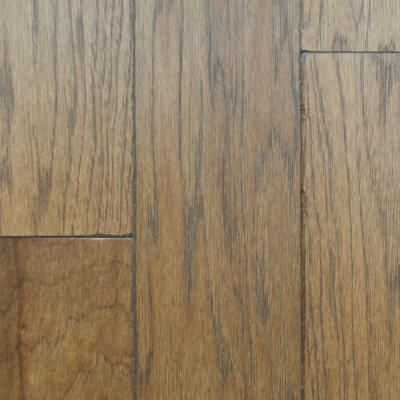 heritage mill hickory rustic artisan sepia 34 in thick x 4 in width x random length solid hardwood flooring 21 sq ft case