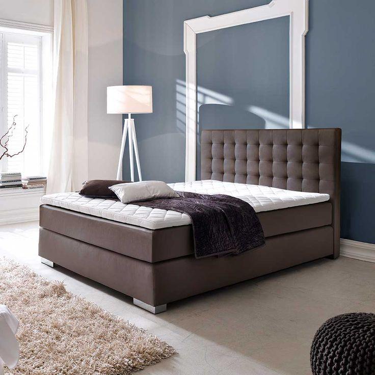 Amerikanisches Bett In Braun Topper (3 Teilig) 160x200 Jetzt Bestellen  Unter: Http · BettenSchlafzimmer