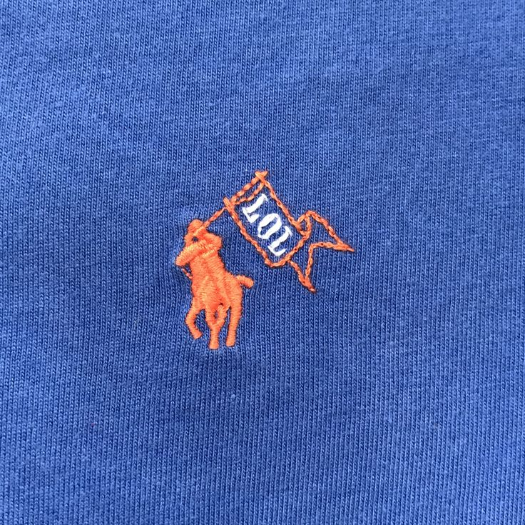 Hand embroidery by @animaytey: embellished children's Polo shirt