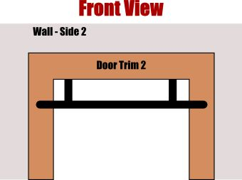 how a doorway pull up bar works (front)