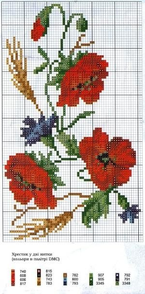 ENCANTOS EM PONTO CRUZ: Flores by Lucia Bessa