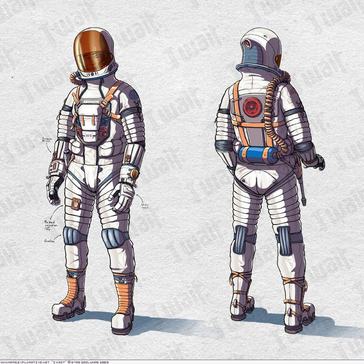 space suit drawing - photo #39
