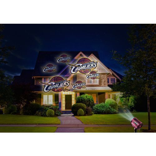 Outdoor Basketball NBA Cleveland Cavaliers Team Logo Light Show LED Projector  #LosAngelesLakers