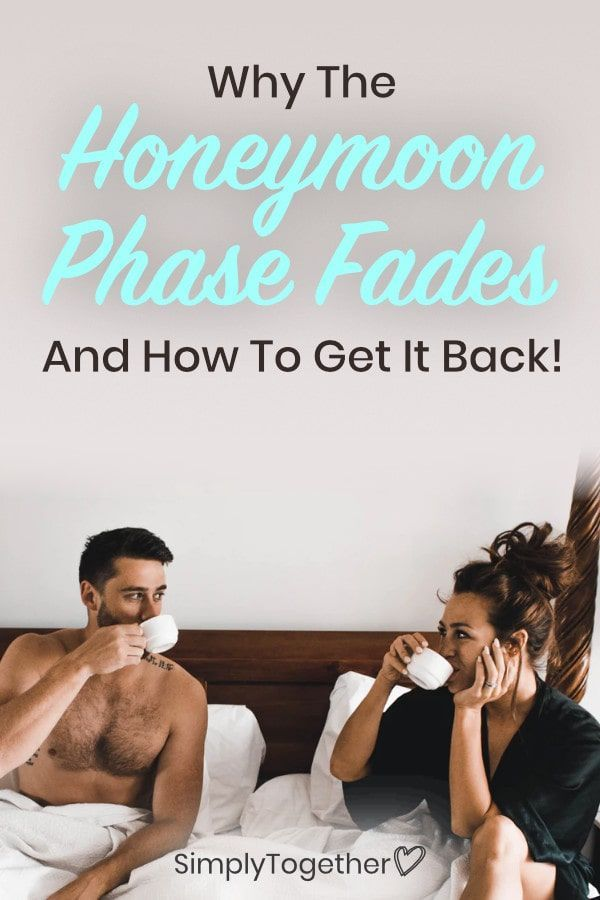 dating after the honeymoon phase