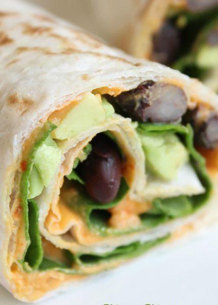 17 Leichte, gesunde Wraps zum Mittagessen | StyleCaster   – Meal ideas