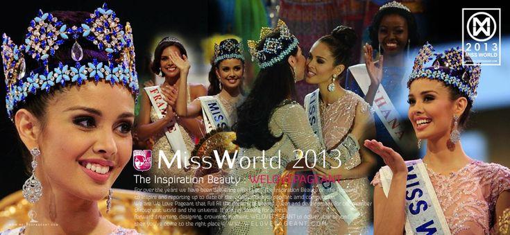 Miss World 2013 crown goes to Miss Philippines : ฟิลิปปินส์คว้ามงกุฏนางงามโลก
