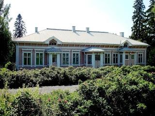 old beautiful Parsonage in Kangasniemi built 1890