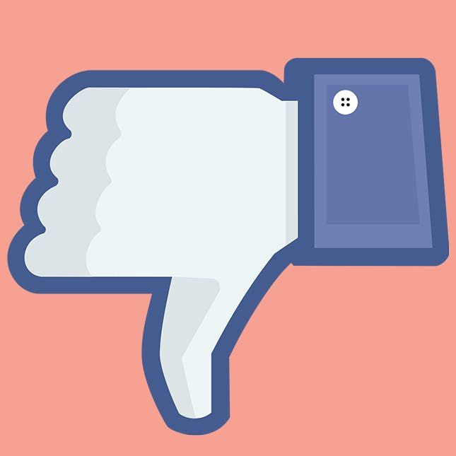 Breaking Facebook Finally Made A Decision On A Dislike Button Dislike Social Media Outlets Icon Design