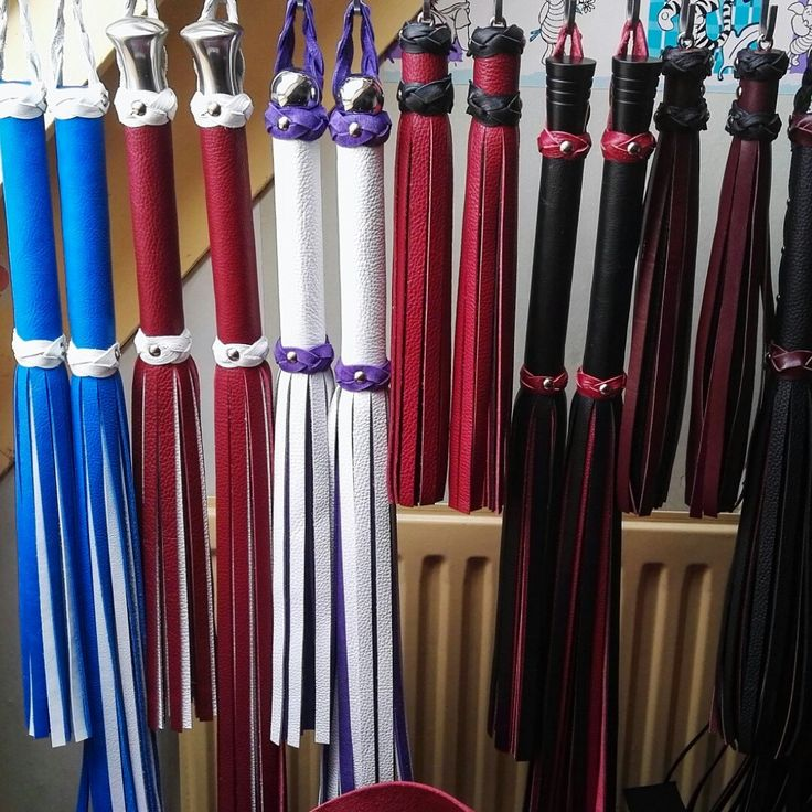 Wolf has been very busy building new floggers and now I (Bliss) will be very busy taking pictures and listing these new pretties soon!!