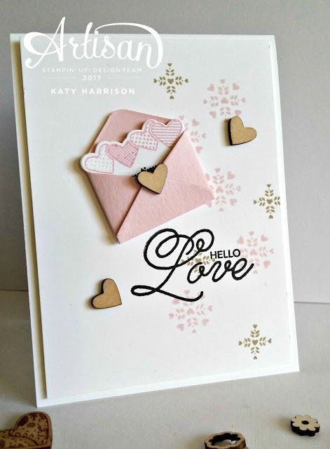 The Stamping Shed: Sealed with Love......Stampin' Up! Artisan Blog Hop