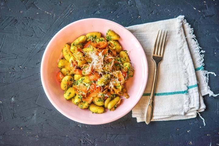 So schmeckt der Frühling: Bärlauch-Gnocchi