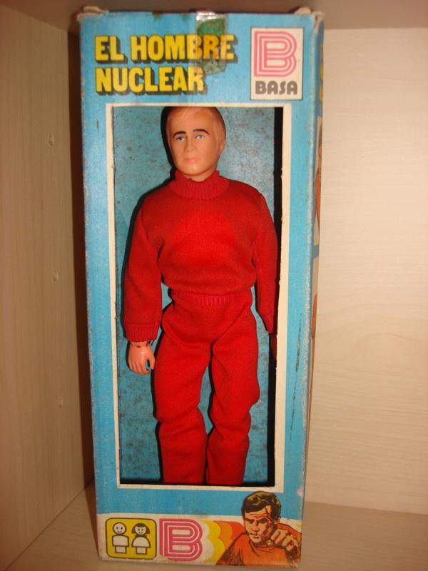 El Hombre Nuclear Six Million Dollar Man Action Figures