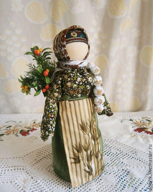 Купить Народная кукла Обережница - народная кукла, кукла оберег, оберег в дом, оберег подарок