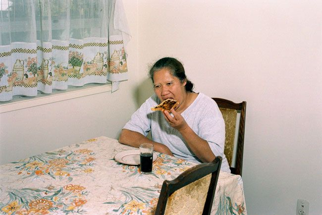 Edith Amituanai, Fipe, 2003, C-type photograph, 200 x 250mm