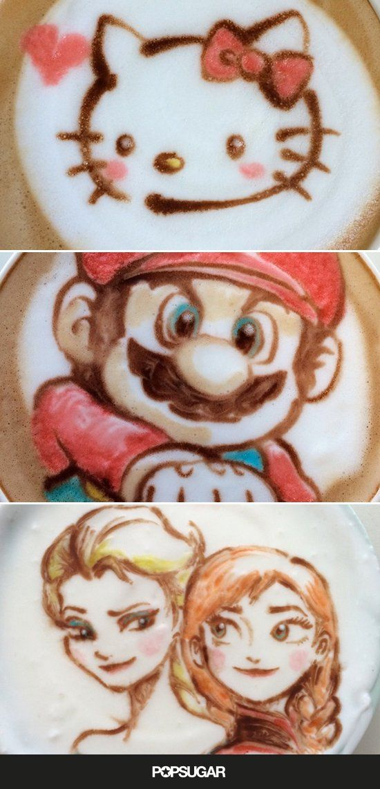 The Cutest Latte Art You've Ever Seen, and That's No Lie