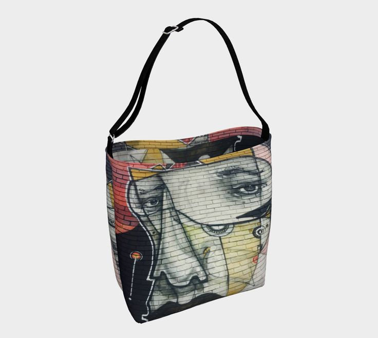 The Face Street Art Tote