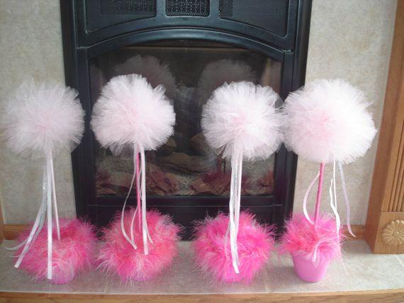 Adorable centerpieces for girls princess parties!!