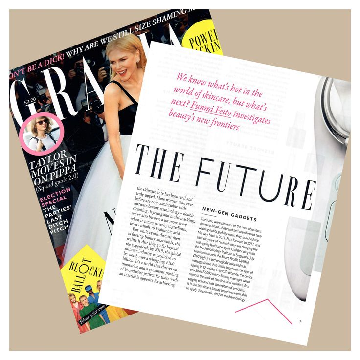 Great article by @funmifetto in @graziauk about what's hot in the frontiers of skincare  and thanks so much for including  my thoughts in the discussion on the wide use of advanced at-home skincare gadgets and products!  #knowthefuture #expertadvice #beauty #drmaryamzamani #skincare #healthandwellness #beautytip #beautyguru #healthyskin #hometreatment #gadgets