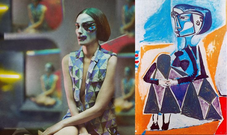 8 Hallucinatory Photographs Inspired By Picasso Paintings